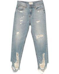 ViCOLO Cropped jeans - Blu
