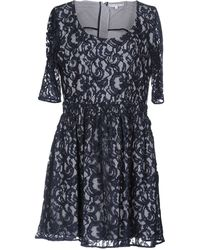 Carven - Sleeved Lace Dress - Lyst