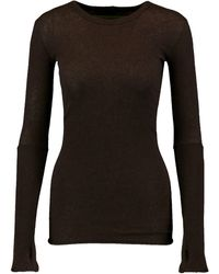 Enza Costa Jumper - Brown