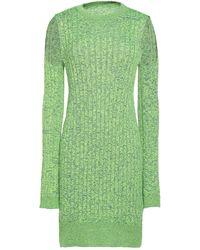 MM6 by Maison Martin Margiela Short Dress - Green