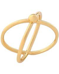 Arme De L'Amour Ring - Metallic