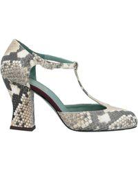 Paola D'arcano Court Shoes - Natural