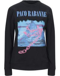 Paco Rabanne Sweatshirt - Schwarz