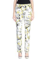 Diane von Furstenberg Casual Pants - White