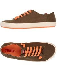 Camper Lace-up Shoe - Brown