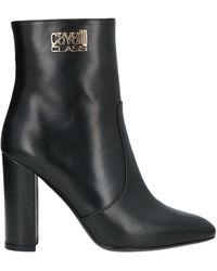 Class Roberto Cavalli Ankle Boots - Black