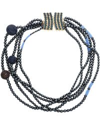 First People First Collana - Blu