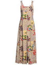 Philosophy di Alberta Ferretti Long Dress - Natural