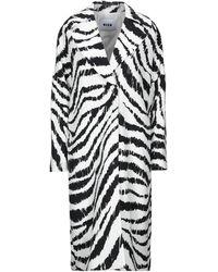 MSGM Overcoat - White