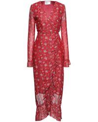 Leon & Harper Long Dress - Red
