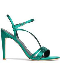 Tibi Sandals - Green