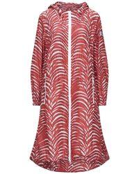 Peuterey Overcoat - Red