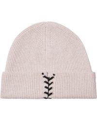 Autumn Cashmere Hat - Natural