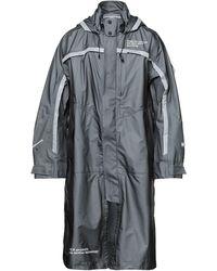 White Mountaineering Overcoat - Grey