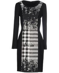 Piazza Sempione Short Dress - Black