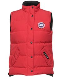 Canada Goose Down Jacket - Red