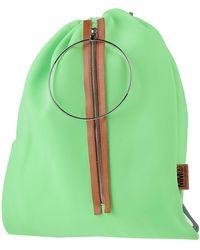 MM6 by Maison Martin Margiela Backpacks & Bum Bags - Green
