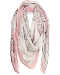 Ottod'Ame - Square Scarf - Lyst