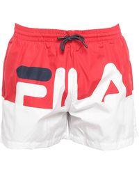Fila Swimming Trunks - Red