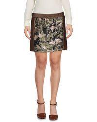 8pm - Mini Skirt - Lyst