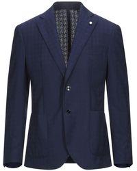 Luigi Bianchi Mantova Suit Jacket - Blue