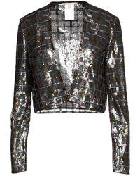 Marco De Vincenzo Suit Jacket - Metallic