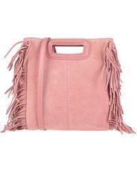 Maje Handbag - Pink