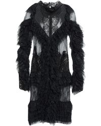 Amen Short Dress - Black