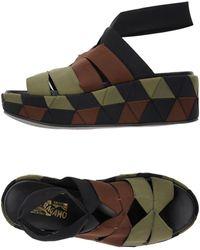 Ferragamo Sandals - Green