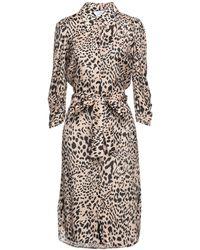 Soallure Knee-length Dress - Pink
