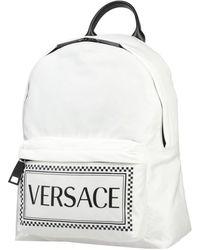 Versace Backpacks & Fanny Packs - White