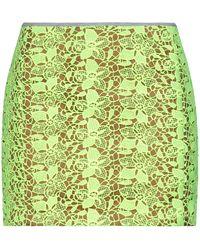 Mauro Grifoni Mini Skirt - Yellow