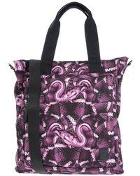 Marcelo Burlon Handbag - Purple