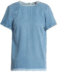 7 For All Mankind Blouse - Blue