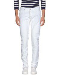 Eleventy Denim Pants - White