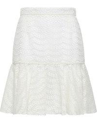 Giambattista Valli Midi Skirt - White