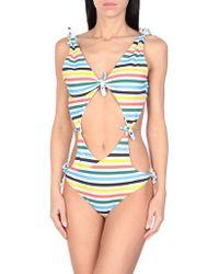 RYE SWIM One-piece Swimsuit - White