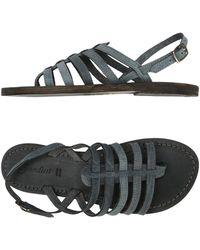 Gardini - Toe Strap Sandal - Lyst