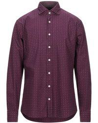 Hackett Camisa - Morado