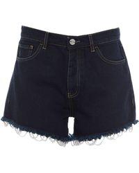 Pinko Denim Shorts - Blue