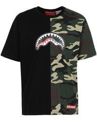 Sprayground T-shirt - Black