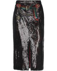 Marco De Vincenzo 3/4 Length Skirt - Black