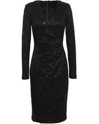 Talbot Runhof Knee-length Dress - Black