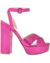P.A.R.O.S.H. Sandals - Purple