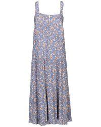 Auguste Knee-length Dress - Purple