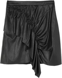 Ralph Lauren Black Label Midi Skirt - Black