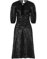 Marco Bologna 3/4 Length Dress - Black