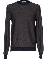 Heritage Pullover - Schwarz