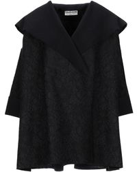 La Petite Robe Di Chiara Boni Coat - Black