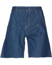 2W2M Bermuda jeans - Blu